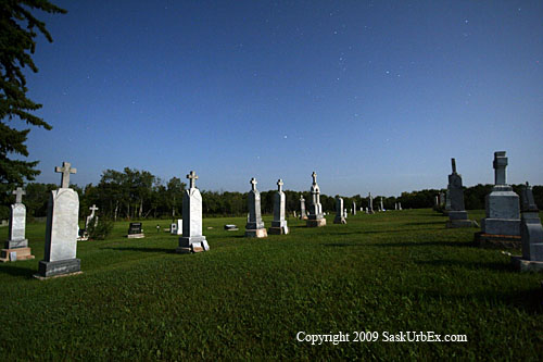 Cemetery at 11 PM