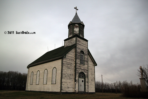 Touchin Wood Churches and Ghost Towns