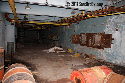 Basement of Power Plant